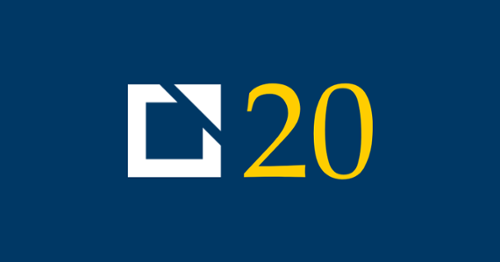 CSG Partners 20th Anniversary Logo