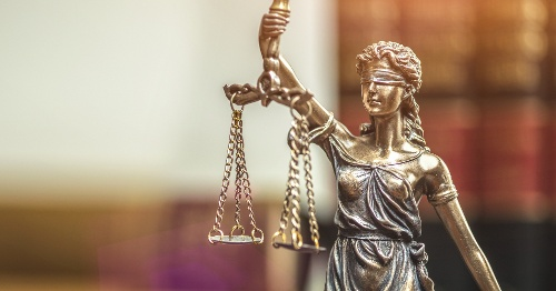 Scales of Law and Justice