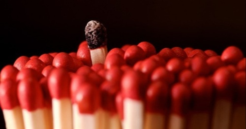 Many Matches, One is Burnt Out